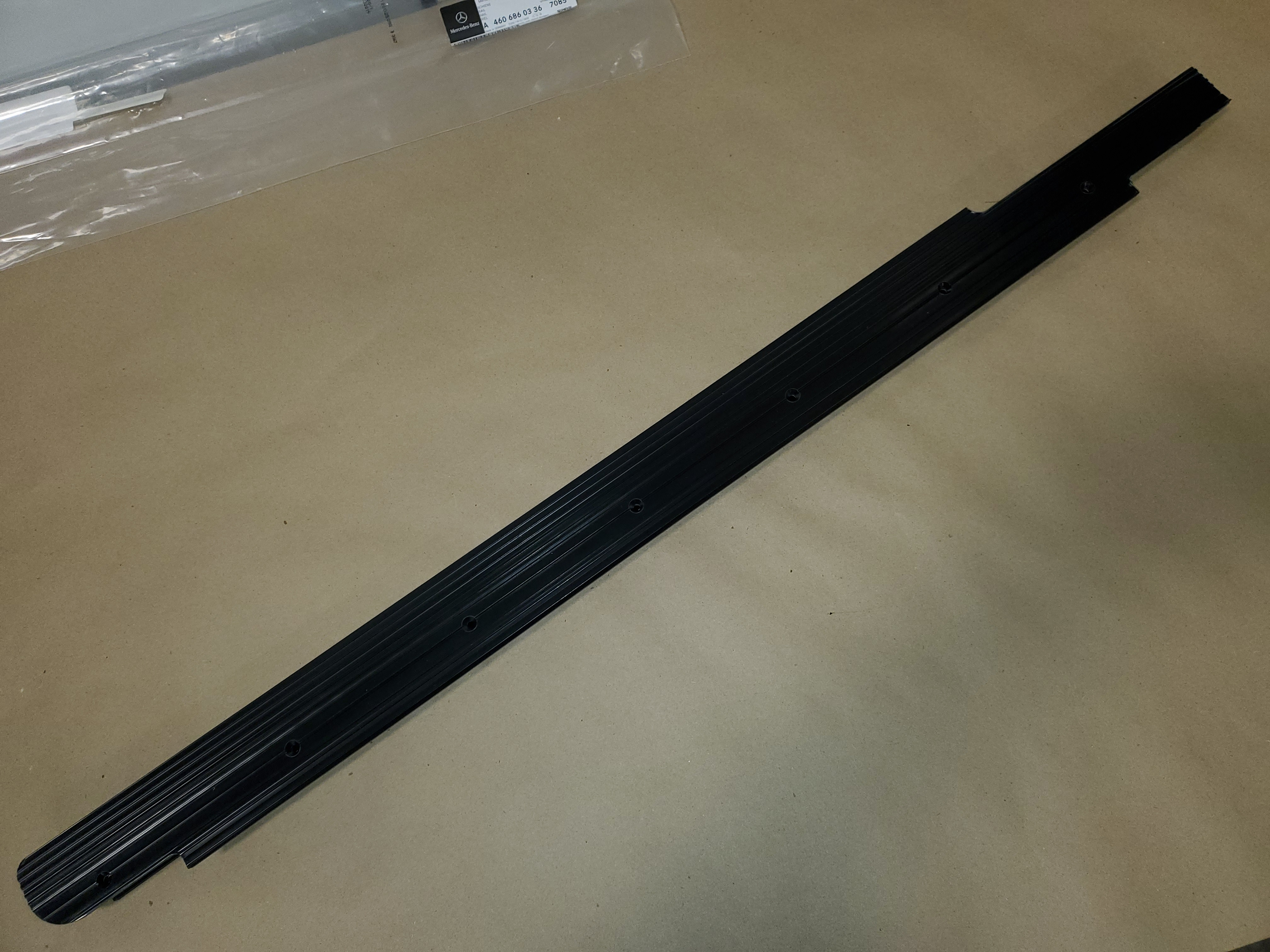 Door Sill - Front Left - Early W460