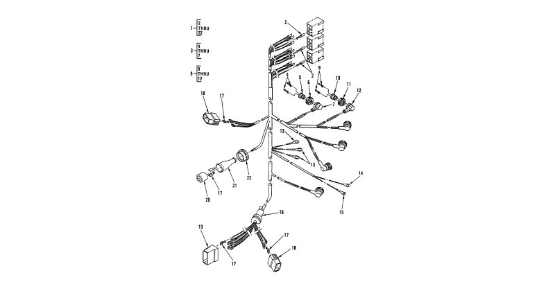 Hull or Chassis Wiring Harness – Frame Wiring Harness, Special Cable Assembly, and Electrical Plug Connector