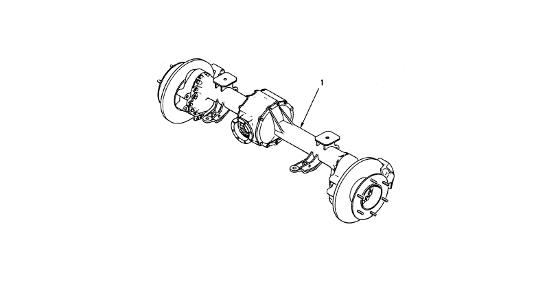 Rear Axle Assembly – Vehicular Axle