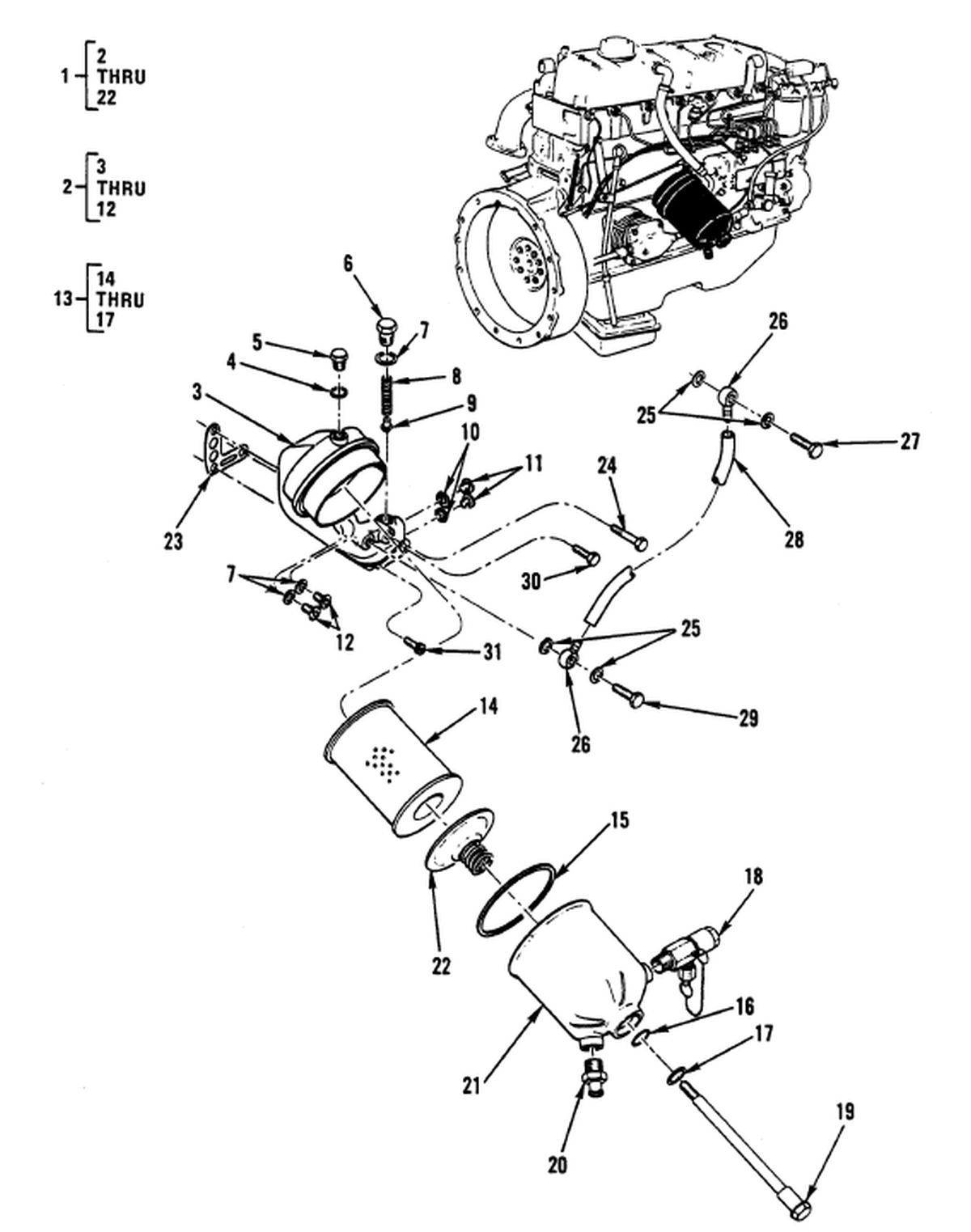 2008 envoy engine diagram oil system 0016 00-2 figure 15. engine lubrication system – fluid ... continental oil system diagram