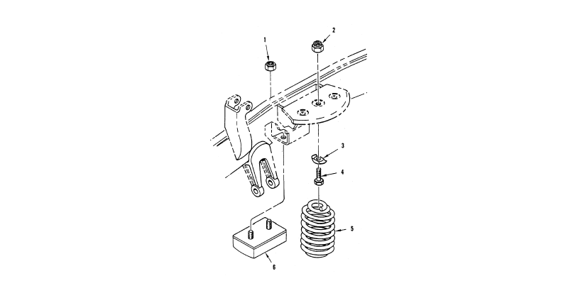 Springs and Shock Absorbers, Springs – Front Springs (Left Front Illustrated)