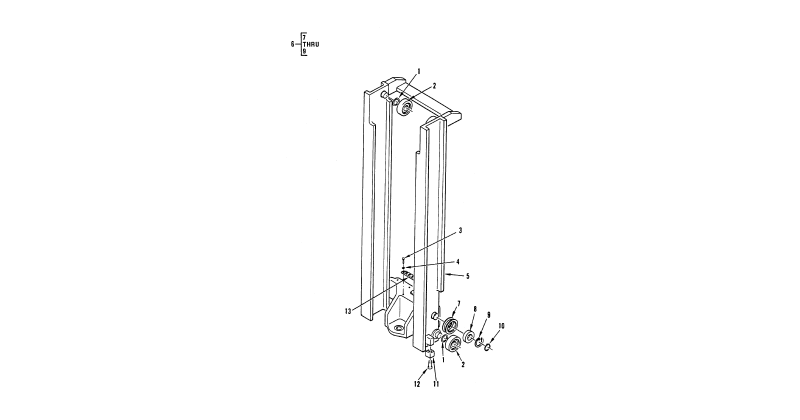 Hydraulic Mast Column – Forklift Inner Upright Mast Assembly