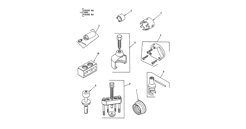 Special Tools - Direct Support Special Tools, General Mechanic's Tool Kit (Figure 1)