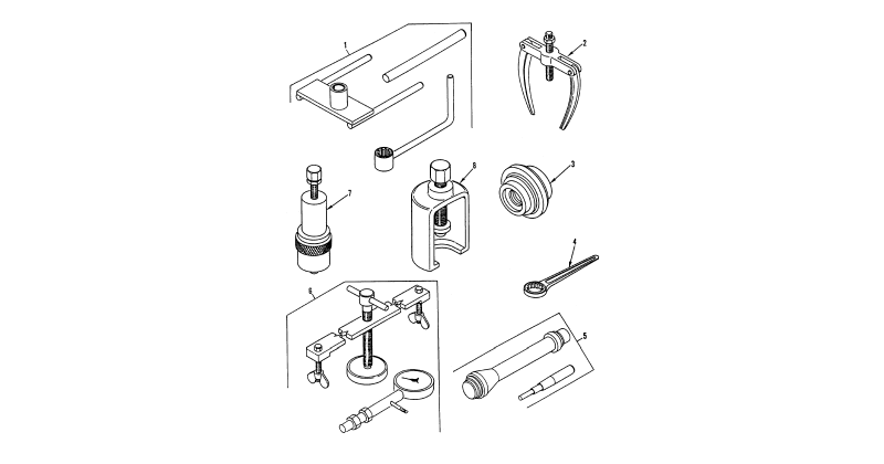 Special Tools – General Support Special Tools, General Mechanic's Tool Kit (Figure 4)