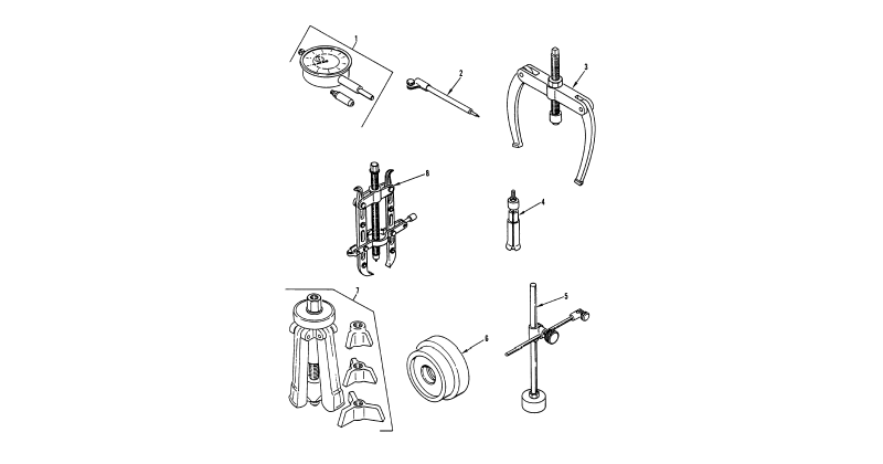 Special Tools – General Support Special Tools, General Mechanic's Tool Kit (Figure 5)