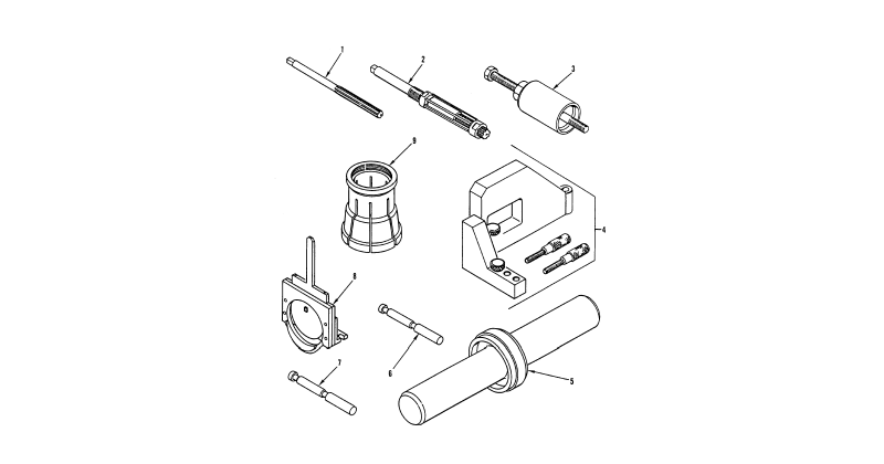 Special Tools – General Support Special Tools, General Mechanic's Tool Kit (Figure 3)