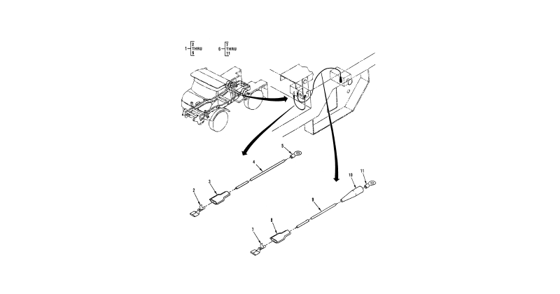 Hull or Chassis Wiring Harness – Electrical Leads