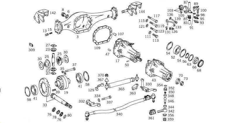 front axle rh expedition imports com Mustang Rear Axle Diagram Live Rear Axle Diagram