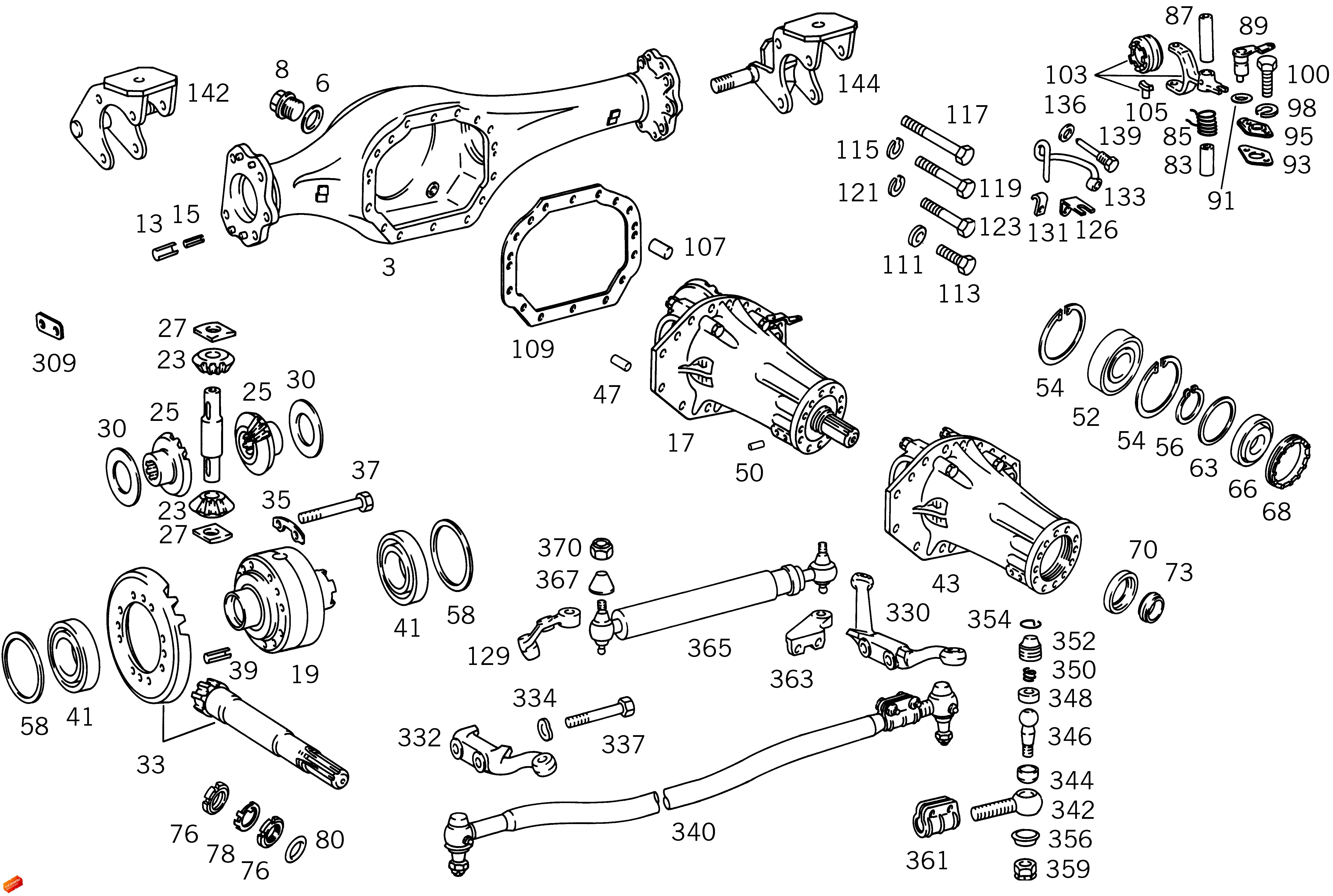 front axle rh expedition imports com Chevy Tracker Rear Axle Exploded View Of Rear Axle Parts Diagram