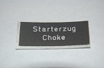 Swiss Dash Label - Choke