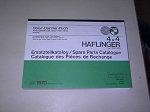 Halfinger Spare Parts Manual