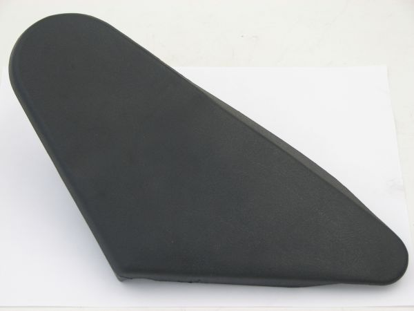 Seat Hardware Cover - Black - Right Side of Seat