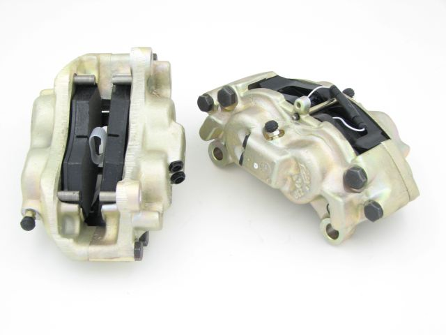 Brake Caliper - Left Front - Dual Circuit Non-vented Discs