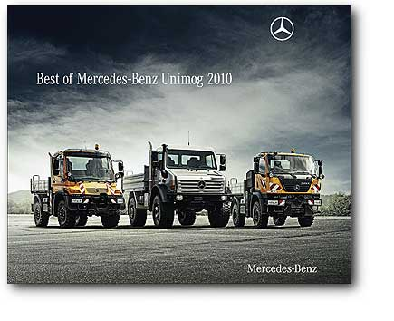 Best of Mercedes-Benz UNIMOG 2010 Calendar