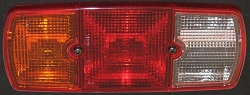 Tail Light Lens, Left - W460