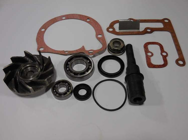 Water Pump Rebuild Kit with Impeller