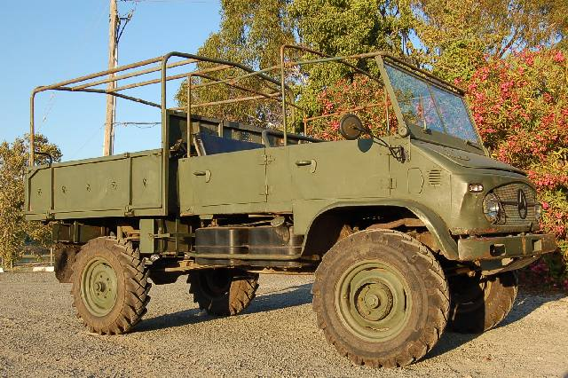 Unimog 404 Doka Trainer 1961 - Project