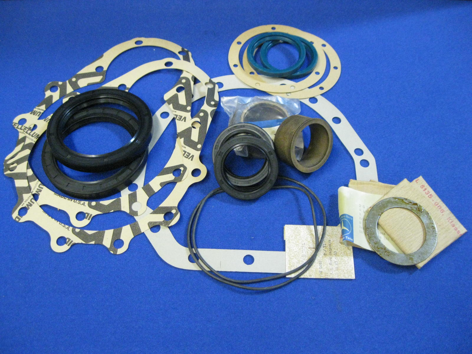 404 Front Axle Bushing, Gasket, Seal Kit - AFTERMARKET
