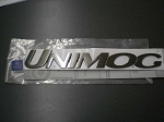 Badge - UNIMOG - Chrome Plastic