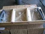 Windshield - 24V Heated - Crated
