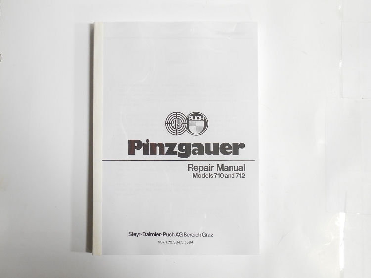 Pinzgauer 710/712 Repair Manual