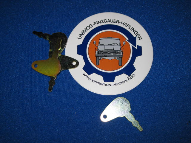 MIlitary Ignition Key - Unimog, Pinzgauer