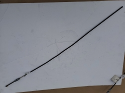 Steel Brake Line - 785mm - Left Side Rear Axle Tube