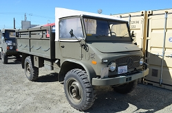 Unimog Swiss 404 Troop Carrier 2