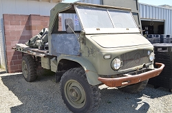 Unimog 404 Swiss Stretched Cab 1969