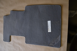 Front Drivers Side Carpet Mat - Grey