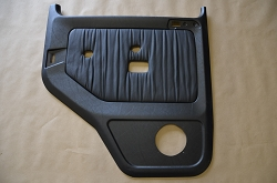 Left Rear Black Leather Door Panel