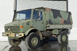 Unimog U1300L - Troop Truck - Turbo and Fast Axles