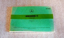 Unimog 404 Engine Parts Manual