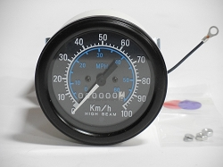 Isspro Speedometer - 100KMH, 60 MPH