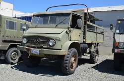 Unimog Swiss 404 Troop Carrier