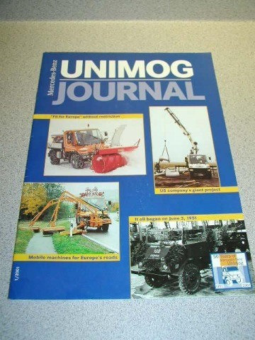 UNIMOG JOURNAL 1 2001 - 50 YEARS - With Unimog History Insert