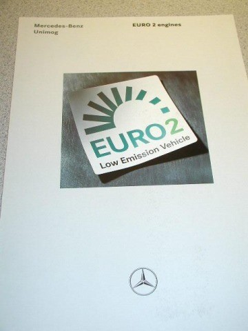 Euro 2 Emissions in the Unimog