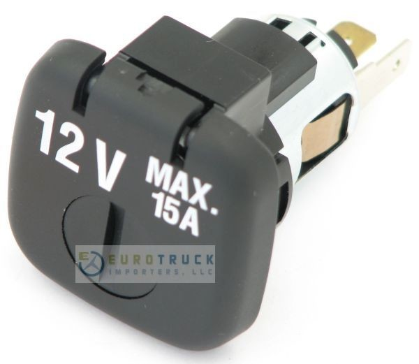 Power Plug, 12V DC - Includes Child Proof Lock