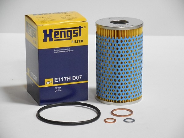 Oil Filter with Gaskets - Unimog 404