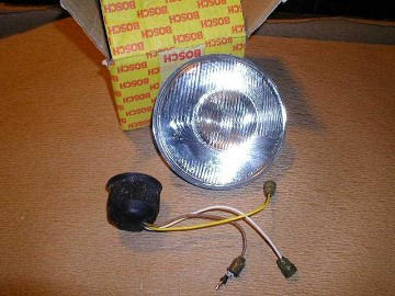 Headlight Lense with Wiring