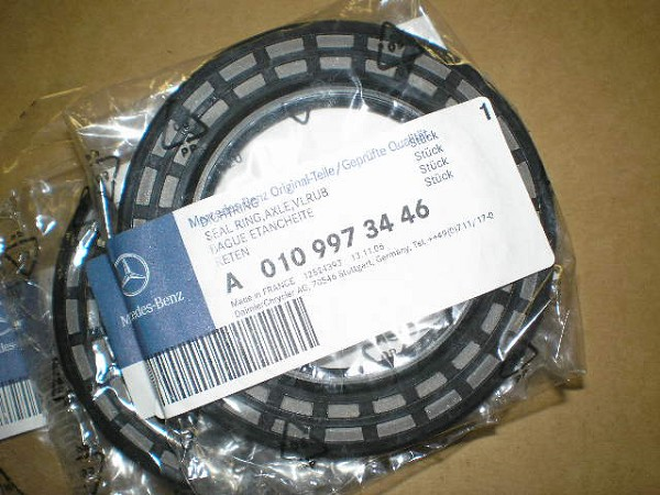 Seal Ring Axle