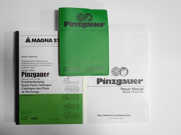 Pinzgauer 710/712 Manual Set