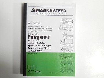 Pinzgauer 710/712 Parts Manual