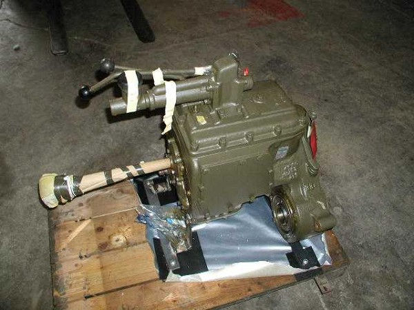 Crated Transmission - Military Rebuild 1980's