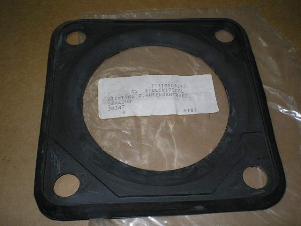 Gasket Square Ant Base 4 Holes