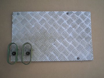 Floor Plate Alu RH - USED