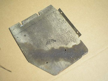 Splash Guard Front Fuel Tank - USED